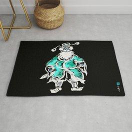 Zhong Kui the Ghost Catcher- Green Robe Rug