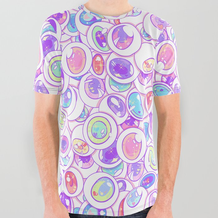 Kawaii_Balls_All_Over_Graphic_Tee_by_Spookish_Delight__Large