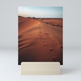 moroccan desert Mini Art Print