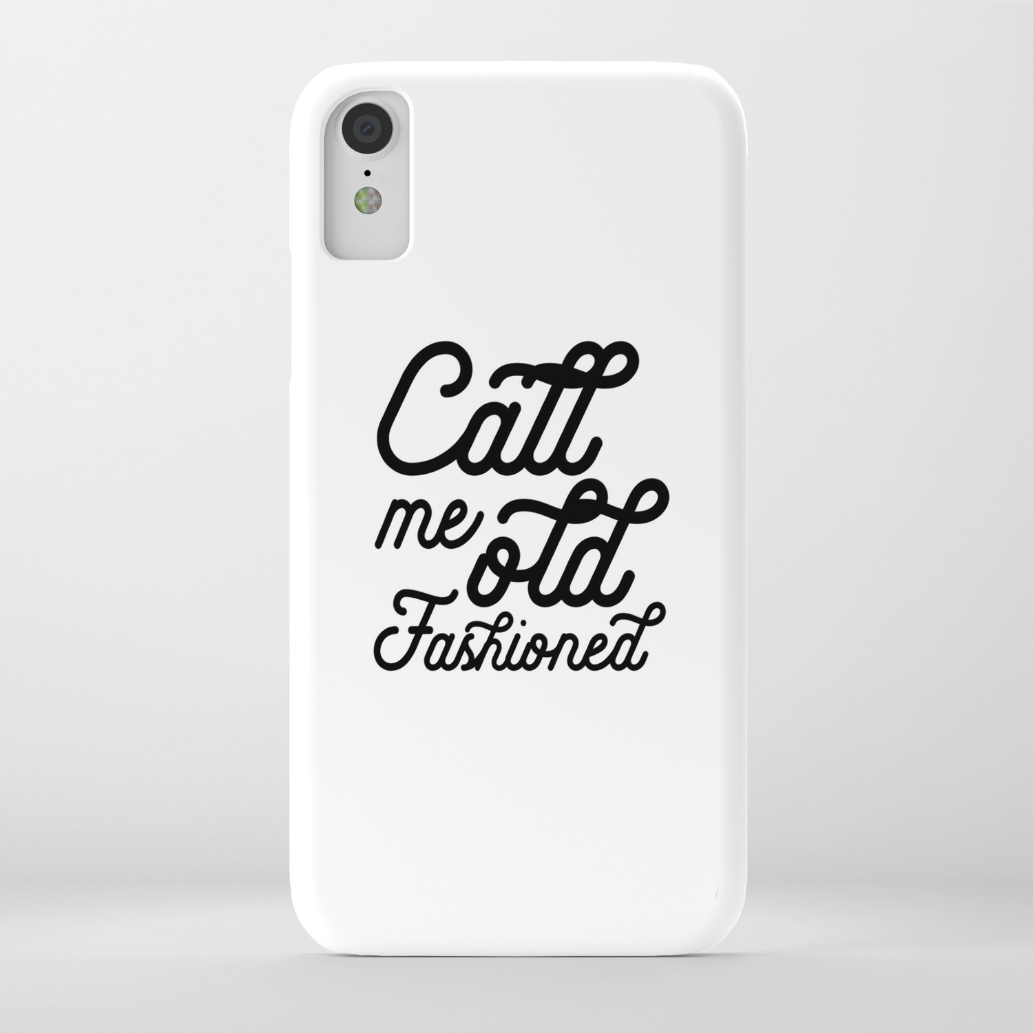 BAR WALL DECOR, Call Me Old Fashioned,Funny Bar Decor,Cute Bar  Decor,Alcohol Quote,Drink Quote,Kitch iPhone Case