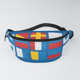NAUTICAL FOR PETE'S SAKE Fanny Pack