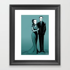 Court of Owls Framed Art Print