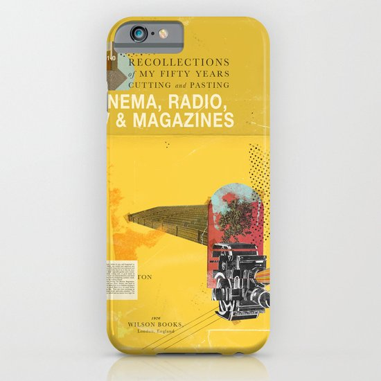Cinema, Radio, TV and Magazines iPhone & iPod Case