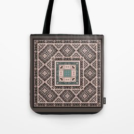 National classic abstract pattern retro print Tote Bag