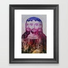 Thrice Christ Framed Art Print