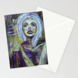 Vanishing - Consumed By Sadness Stationery Cards