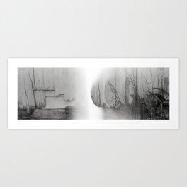 In Shelter. Art Print