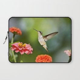 Hummingbird Hovering Laptop Sleeve