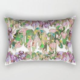 Starry Alphabet Rectangular Pillow