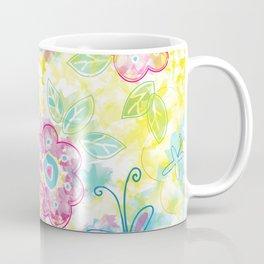 Watercolor spring pattern Coffee Mug