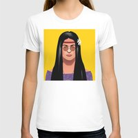 hippie T-shirts featuring Frida hippie by alex figueroa