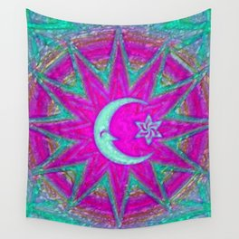 Mandala universe Wall Tapestry