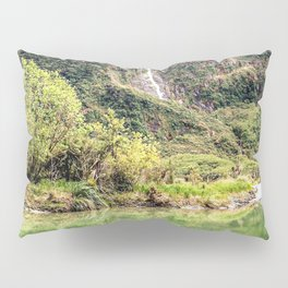 Earthy Mountain Stream // Hiking Bliss Incredible Views of the Beautiful Mountainscape Pillow Sham