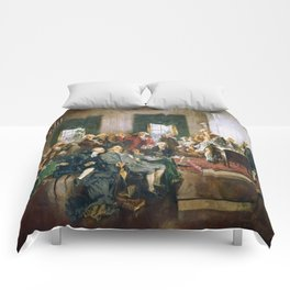 The Signing of the Constitution of the United States - Howard Chandler Christy Comforters