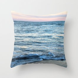 California Waves Throw Pillow