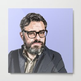 Jemaine Clement 4 Metal Print