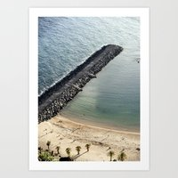 Break Sea Art Print