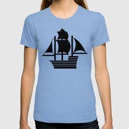 Pirate Ship Boat T-shirt