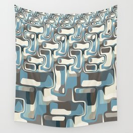 Abstract Shapes Metamorphosis Wall Tapestry