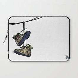 "Livin' For The City - ""Just For Kicks"" Laptop Sleeve"