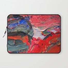 Up Close & Personal with Portrait of a Shoe #2 by Joan Brown Laptop Sleeve