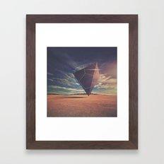 quantum star Framed Art Print