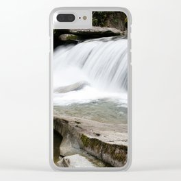 WNC Waterfall Clear iPhone Case