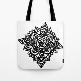 Crystal Flower  Tote Bag