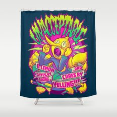 LEMONGRAB: UNACCEPTABLE Shower Curtain