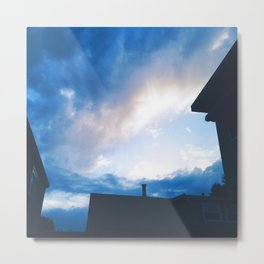 [break in the clouds] Metal Print