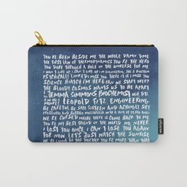 FitzSimmons Phrases in Colours/2 Carry-All Pouch