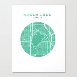 Green Lake, Seattle Canvas Print