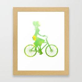 Cycling 353 Framed Art Print