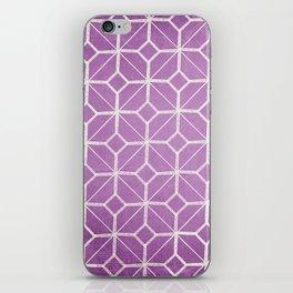 Rome - Radiant Orchid Geometric  iPhone Skin