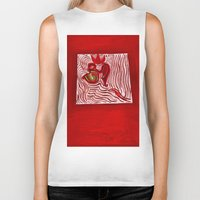 om Biker Tanks featuring om by Loosso