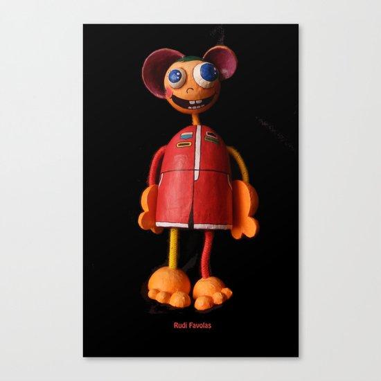 Rudi Favolas Canvas Print