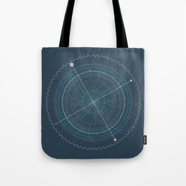 Shapes like Jagger Tote Bag