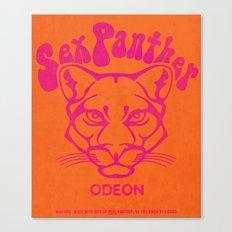 ANCHORMAN - Sex Panther  Canvas Print