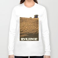 dune Long Sleeve T-shirts featuring DUNE by Avigur