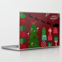 xmas Laptop & iPad Skins featuring Xmas by JuniqueStudio