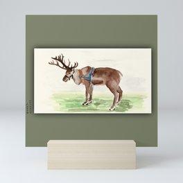 reindeer Mini Art Print