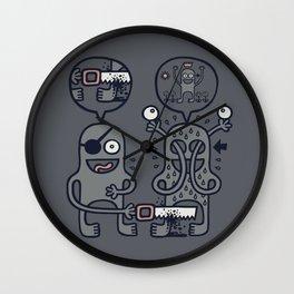 To Attain Higher Perspective Through Detachment Wall Clock