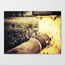 Water Supply Canvas Print