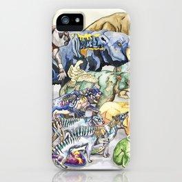 Extinct Australian Megafauna iPhone Case