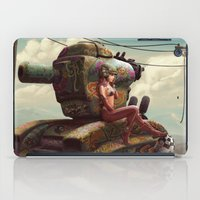 tank girl iPad Cases featuring Tank Girl Pepper by St.Man