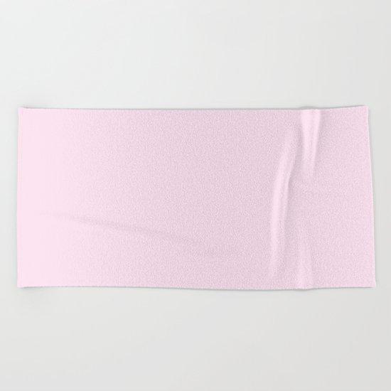 Simply Desert Rose Pink Beach Towel