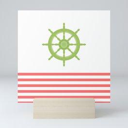 AFE Nautical Wheel 2019 Mini Art Print