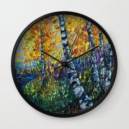 Colorado Landscape Wall Clock