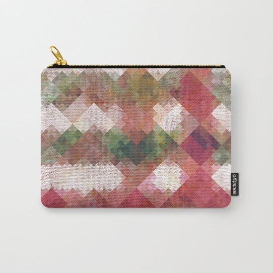 Aztec Vintage Pattern 04 Carry-All Pouch