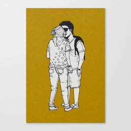 series-kiss Canvas Print